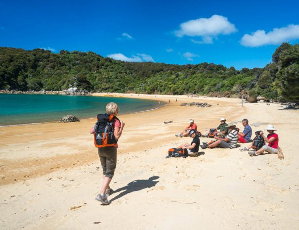 What to bring when walking Abel Tasman directly from Mārahau